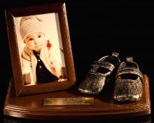 pamiątka na chrzest dla chłopca